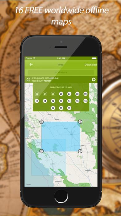 Track Kit - GPS Tracker with offline mapsのおすすめ画像2