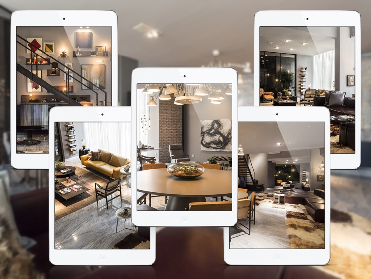 Interior Design Ideas - Artful Loft Design for iPad screenshot-3