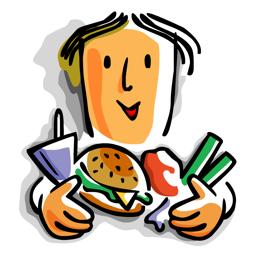 Ícone do app Cravings - Conheça meta diária de calorias com o Vigilantes do Peso, Calorie Counter & Diet Tracker