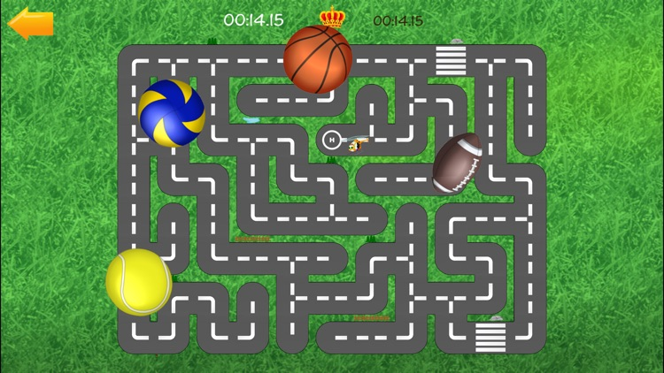 Cars road maze - funny free educational shape matching game for kids, boys, toddlers and preschool screenshot-4