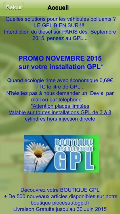 Installateur GPL