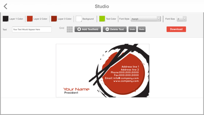 Design Mantic - Business Card MakerScreenshot of 3