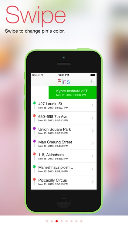 Pins - your location assistant screenshot-3