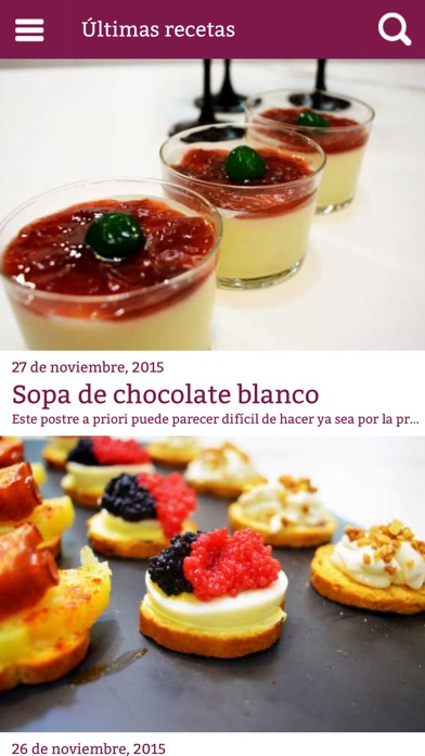 Screenshot for Cocina Familiar - Recetas in Venezuela App Store