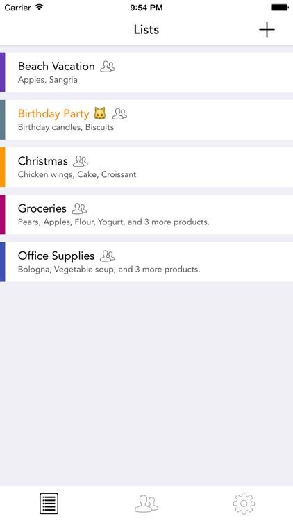 Grocery Ping List By Capitan Screenshot 3