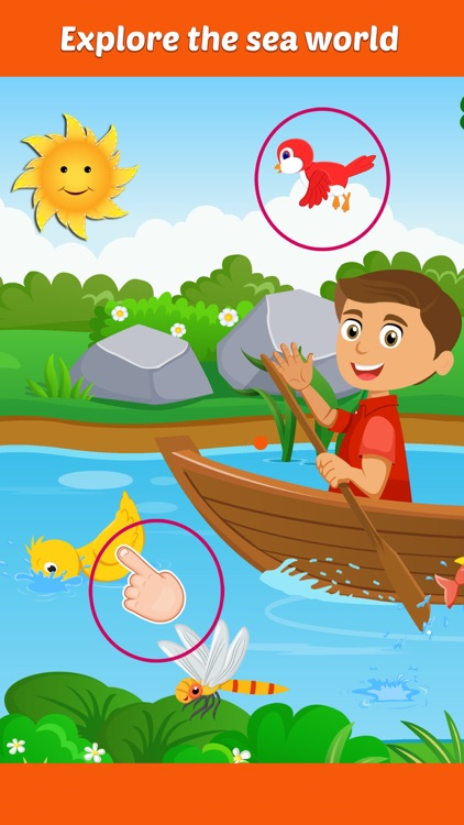 Row Your Boat- Sing along Nursery Rhyme Activity for Little Kids