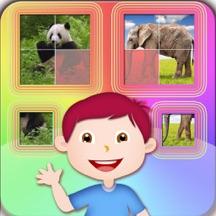 拼图小神童 - 宝宝 幼儿拼动物图片