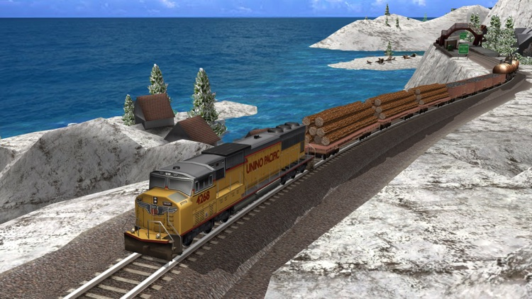 Train Simulator 2015 Free - United States of America USA and Canada Route - North America Rail Lines screenshot-3