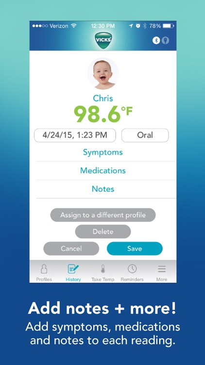 Vicks SmartTemp Thermometer