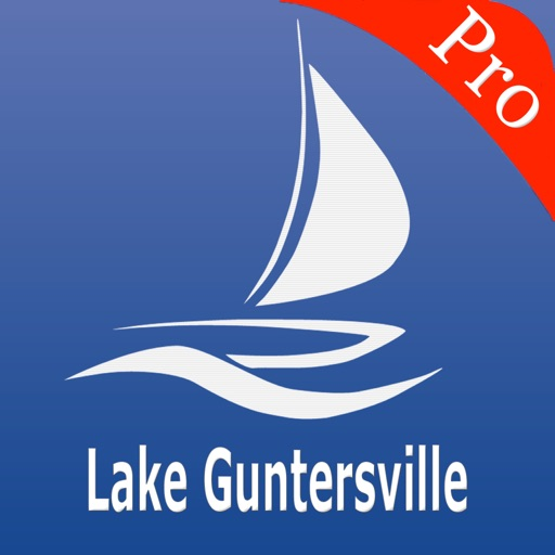 Guntersville Lake Nautical charts pro