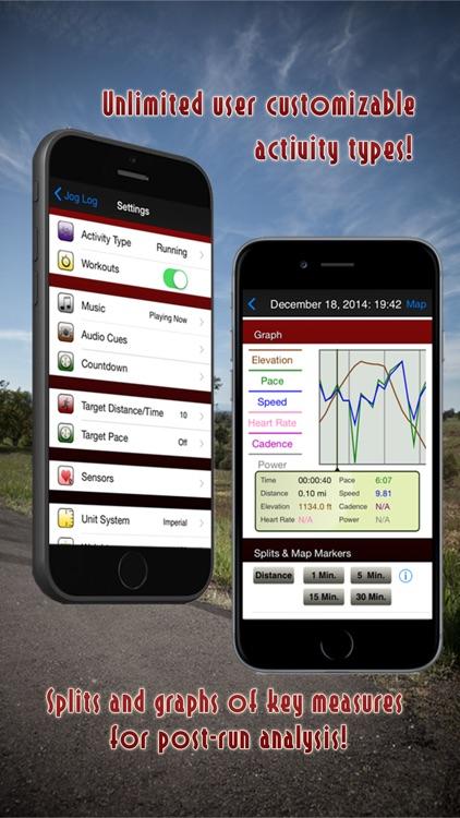 Jog Log - GPS Running, Walking, Cycling, and Workout Tracker screenshot-3