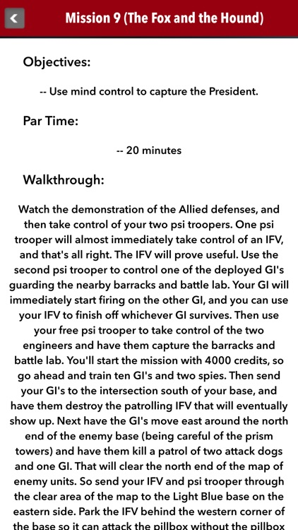 Guide for Command & Conquer Red Alert 2 screenshot-3