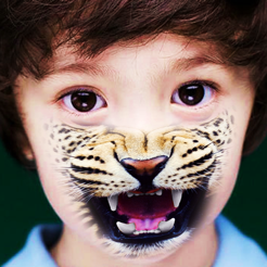 Animal Face Tune Sticker Photo Editor To Blend Morph And