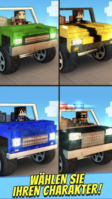 Crafting Cars . Kostenlose Auto Rennen Spiele für KinderScreenshot von 2
