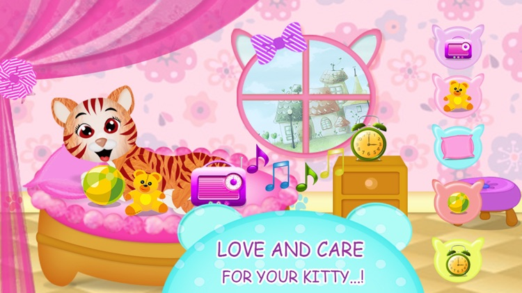 Kitty Cat Love - Pets Care