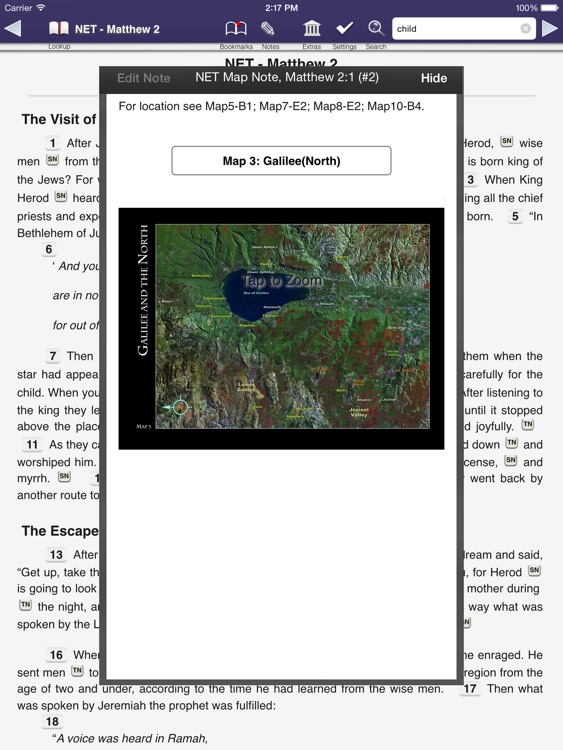 Touch Bible - Offline Bible with Study and Audio screenshot-2