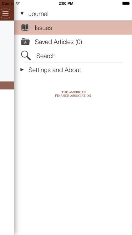 The Journal of Finance screenshot-4