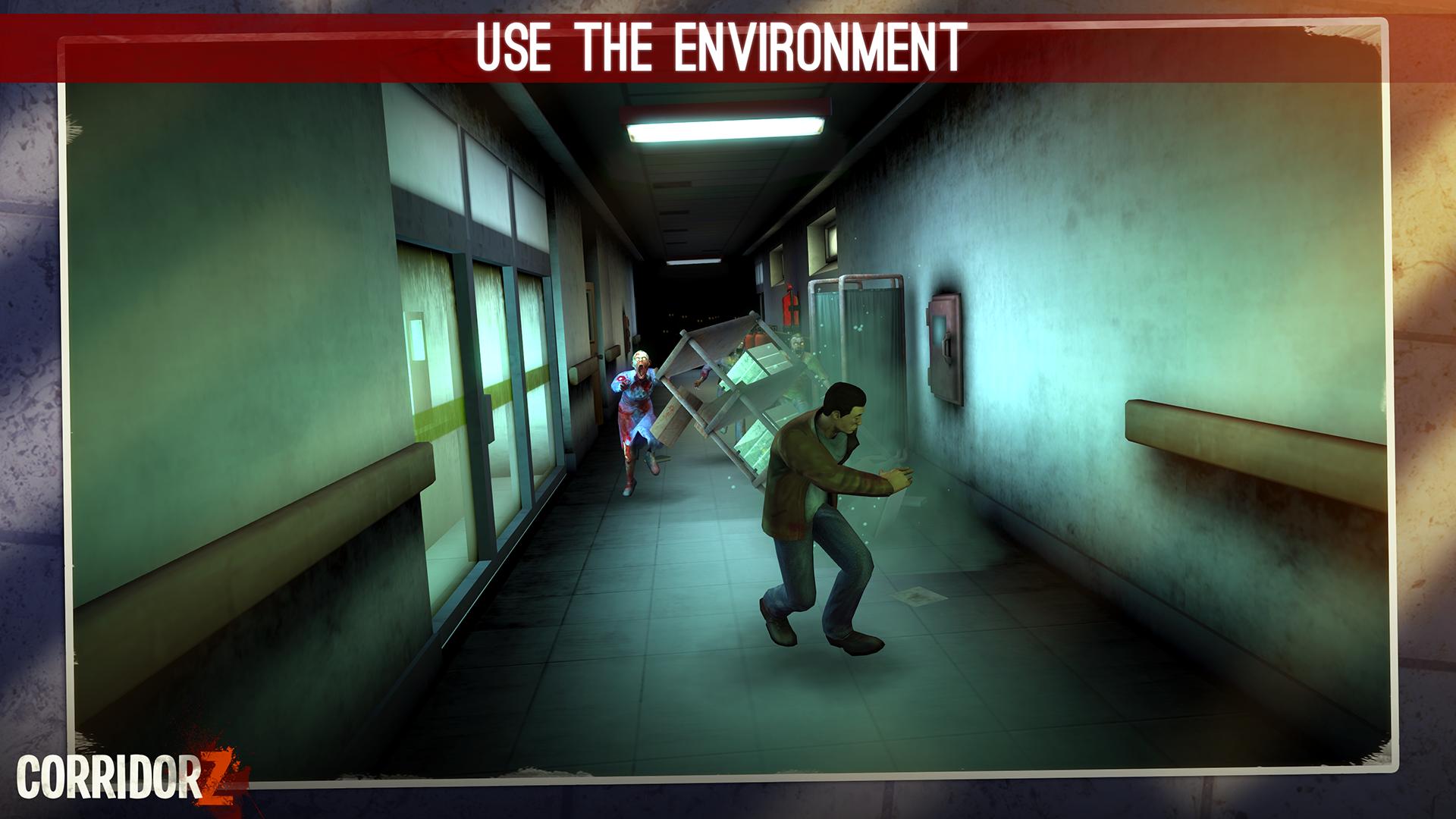 Corridor Z - Inverted Zombie Runner screenshot 18