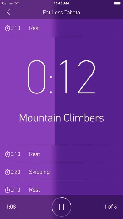 FitHIT — Interval Timer & Workout Log screenshot one