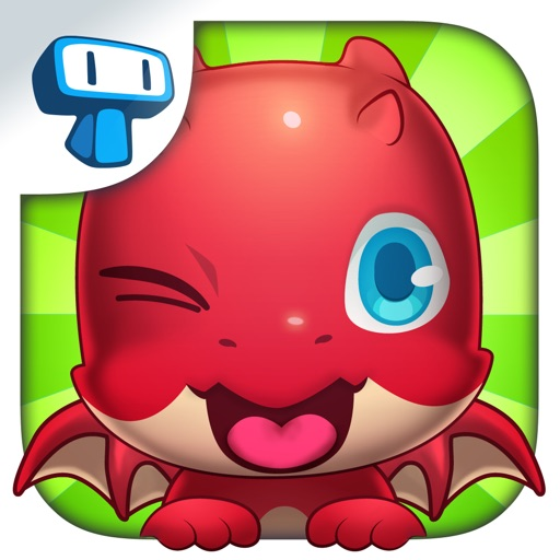 My Virtual Dragon - Pocket Pet Monster with Mini Games for Kids