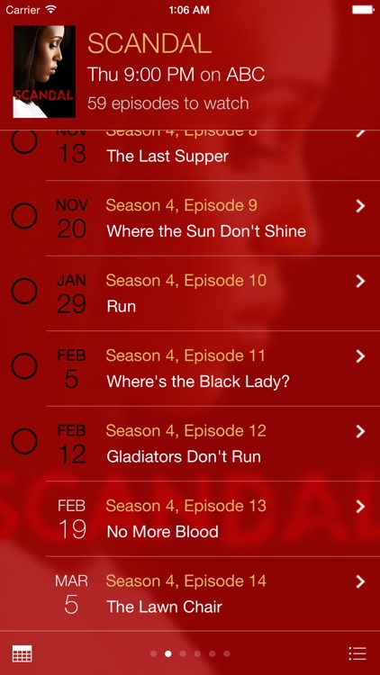 tv show tracker 3 screenshot-0