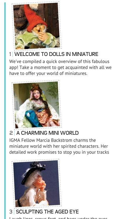 Dolls In Miniature