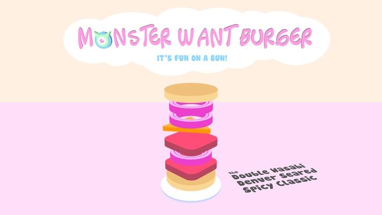 Monster Want Burger