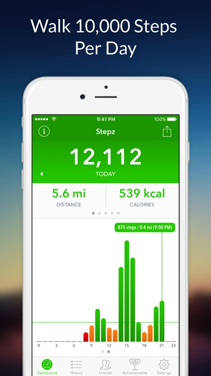 Stepz - Step Counter