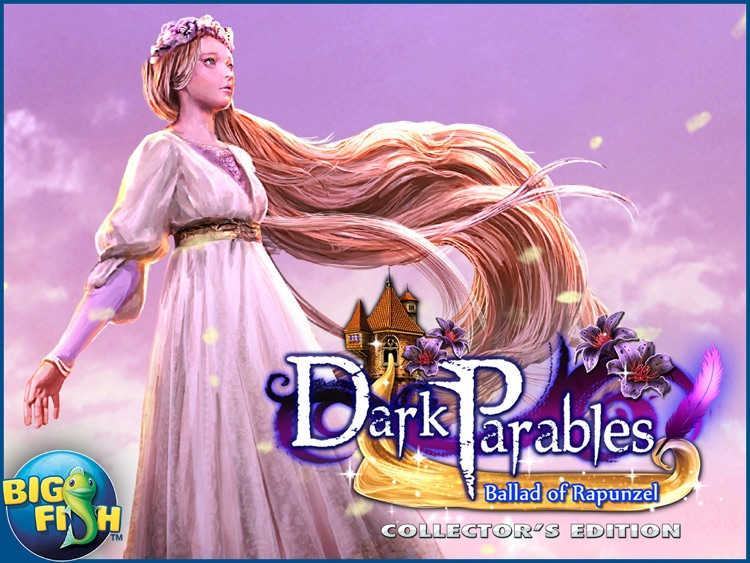 Dark Parables: Ballad of Rapunzel HD - A Hidden Object Fairy Tale Adventure screenshot-3