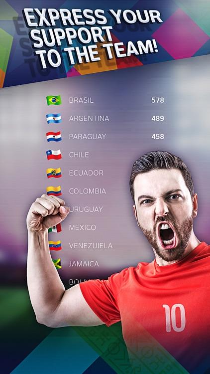 Free kick challenge - Copa America 2015 edition screenshot-3