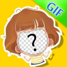 Gif Maker - Camera to Create Animated Cartoon Images & Rage Faces by using your head photo