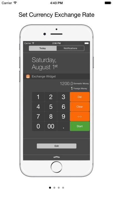 Screenshot 4 For Currency Exchange Widget Conversion Converter Calculator