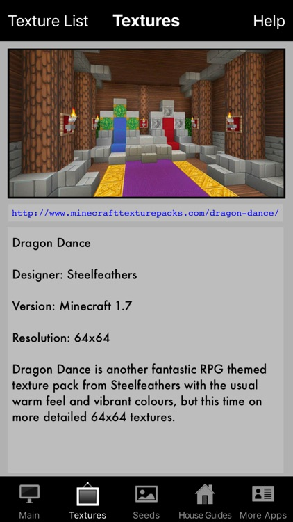 Textures, Seeds & House Guide for Minecraft