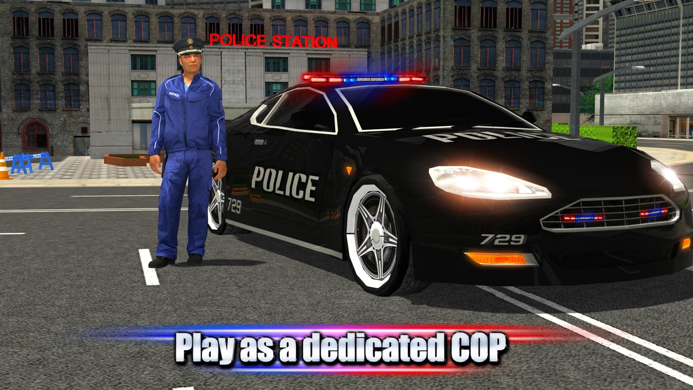 Crime Town Police Car Driver Screenshot