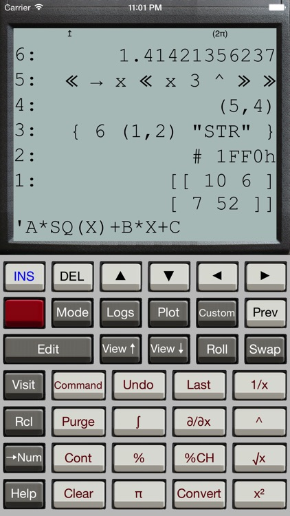 Halcyon Calc screenshot-1