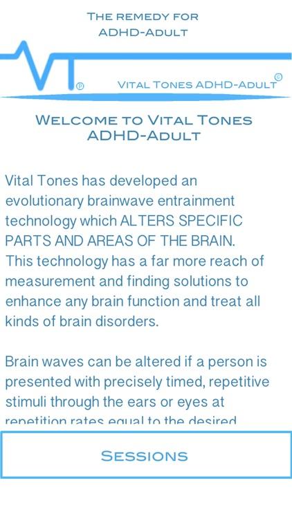 Vital Tones ADHD-Adult Pro