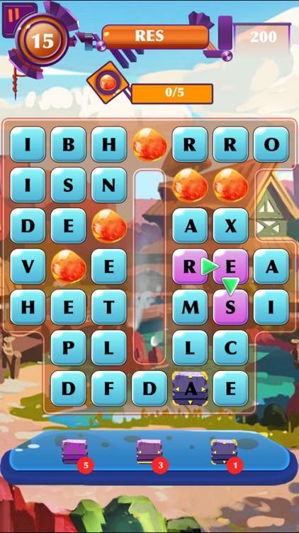 Word Search - Find Crossword Spelling Test