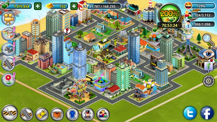 City Island: Premium - Builder Tycoon - Citybuilding Sim Game from Village to Megapolis Paradise - Gold Edition