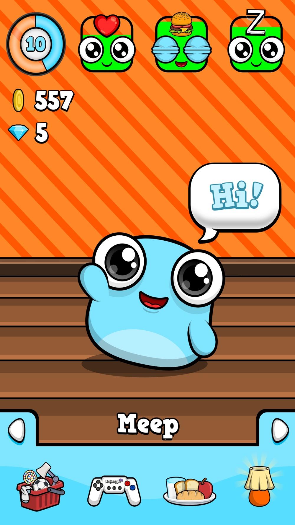 Meep - Virtual Pet Game hack tool