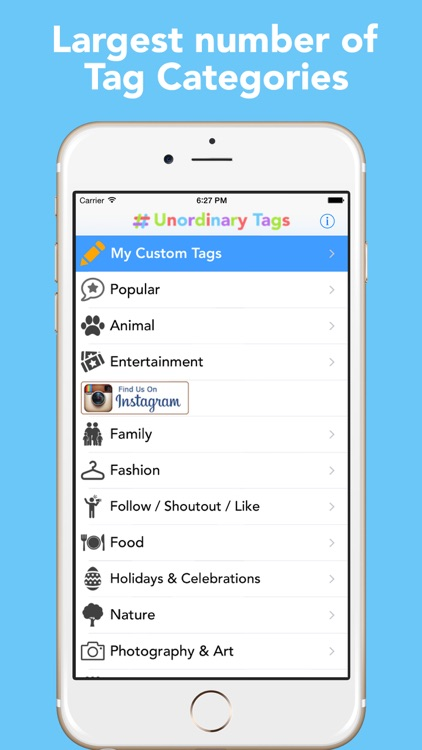 Unordinary Tags - Copy and Paste Tags for Instagram
