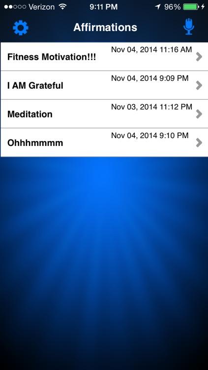 I AM That I AM ~ Affirmation Recorder & Meditation - LITE screenshot-3