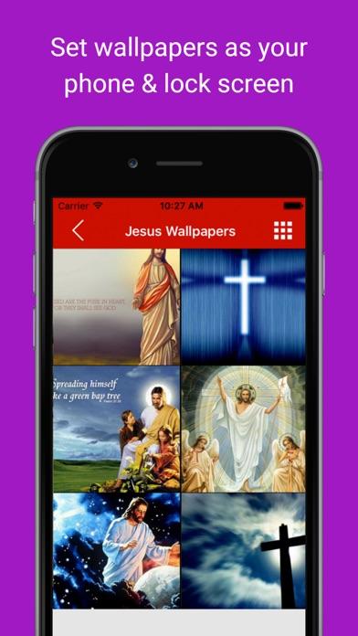 Christmas Picture Wallpaper Jesus Bible Messages 苹果商店应用