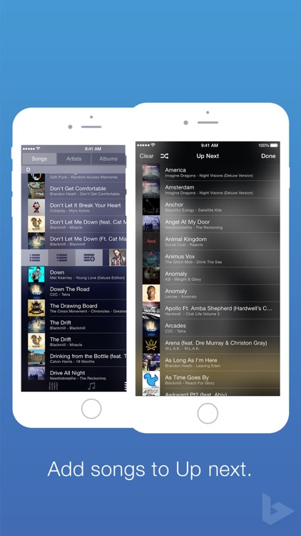 Blend Music Player screenshot-2