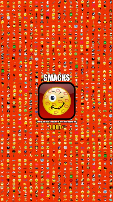 Screenshot for SMACKS DIRTY EMOJI + Fonts & Backgrounds + New Emoticons Smileys in Lebanon App Store