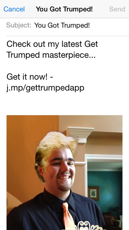 Get Trumped - Billionaire Hair Photo Booth screenshot-4