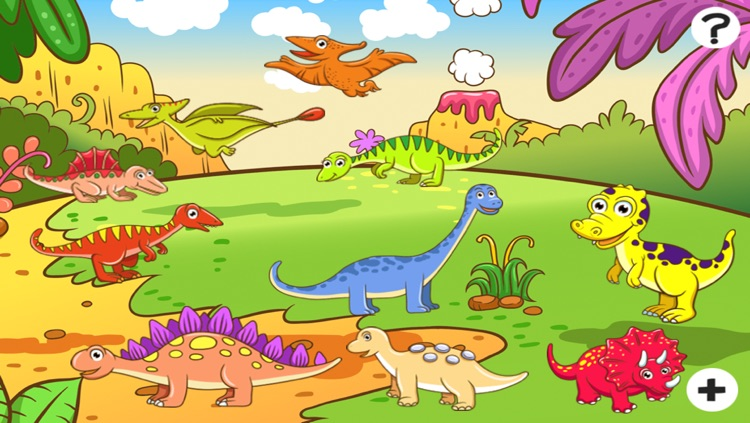 A Dinosaurs Game for Children: Learn about dinos for kindergarten and pre-school screenshot-4