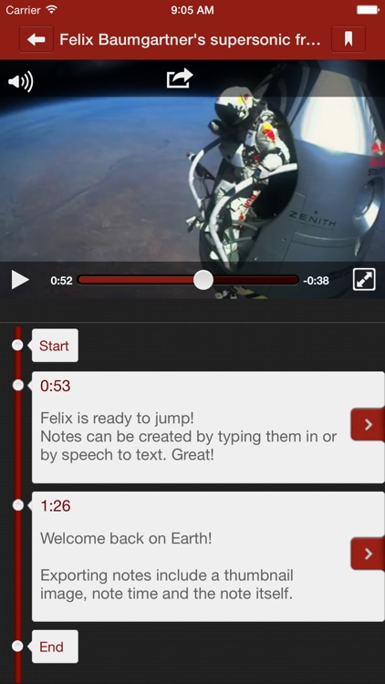 TubeNotes - Video Player and Video Notes
