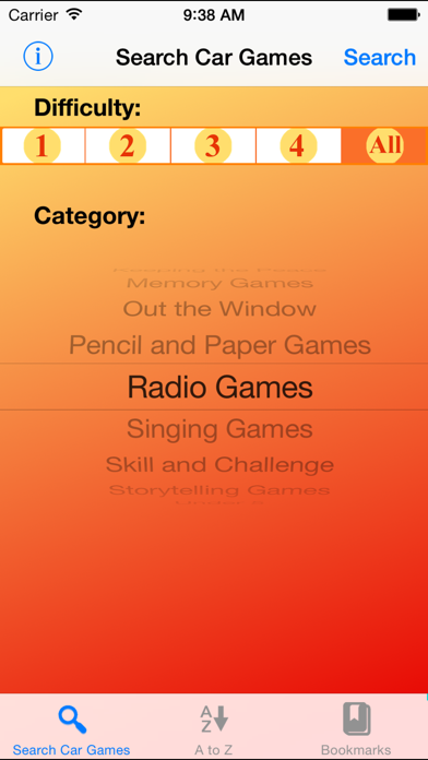 Family Car Games screenshot one