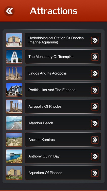 Rhodes Island Tourism Guide screenshot-2