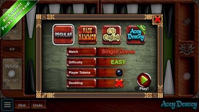 Backgammon HD Скриншоты5